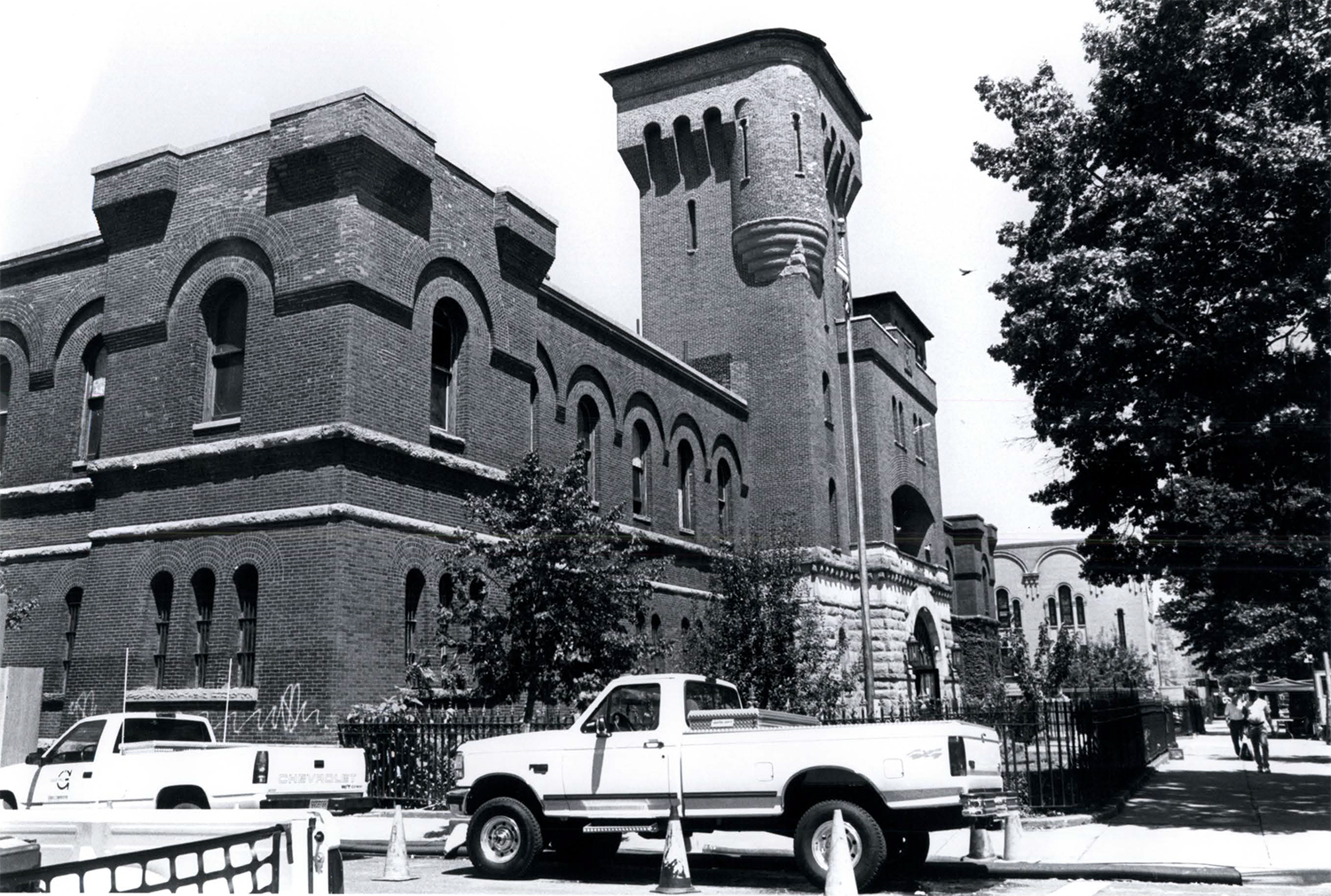 14th Regiment Armory, 1997. Photo via LPC.
