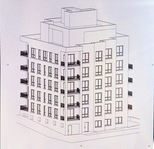 Schematics Posted Of Seven-Story, 21-Unit Residential Building At 17 ...