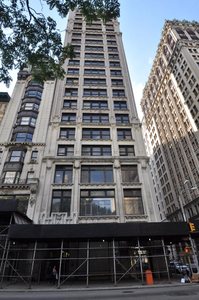 212 Fifth Avenue before its scaffolding, in July 2014. photo by Christopher Bride for PropertyShark