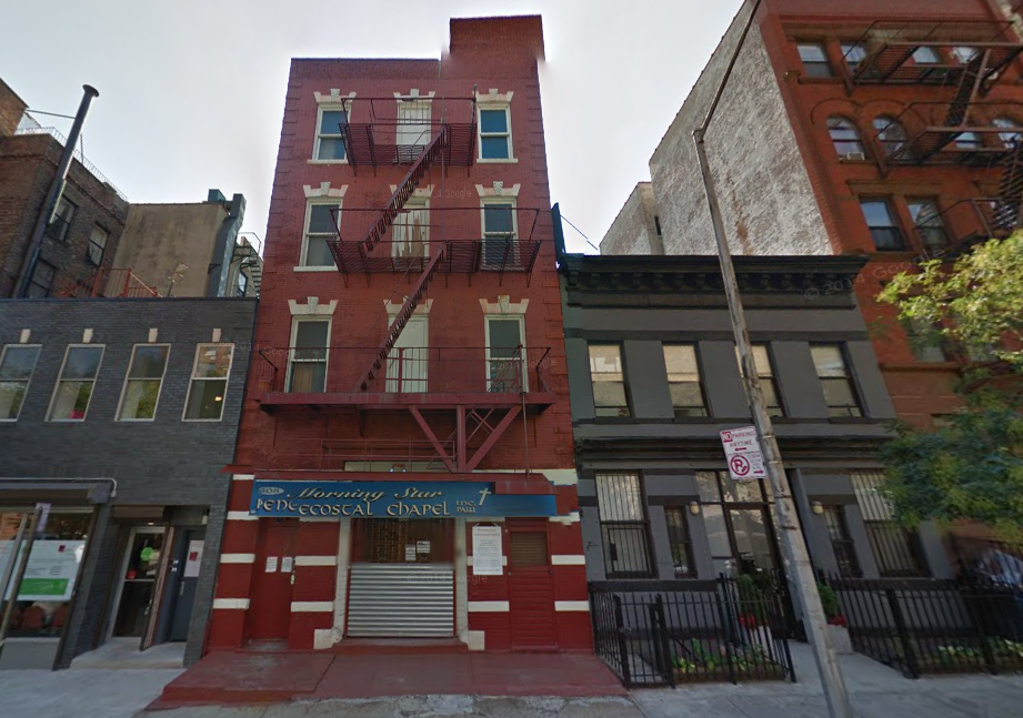 308-310 West 133rd Street, image via Google Maps