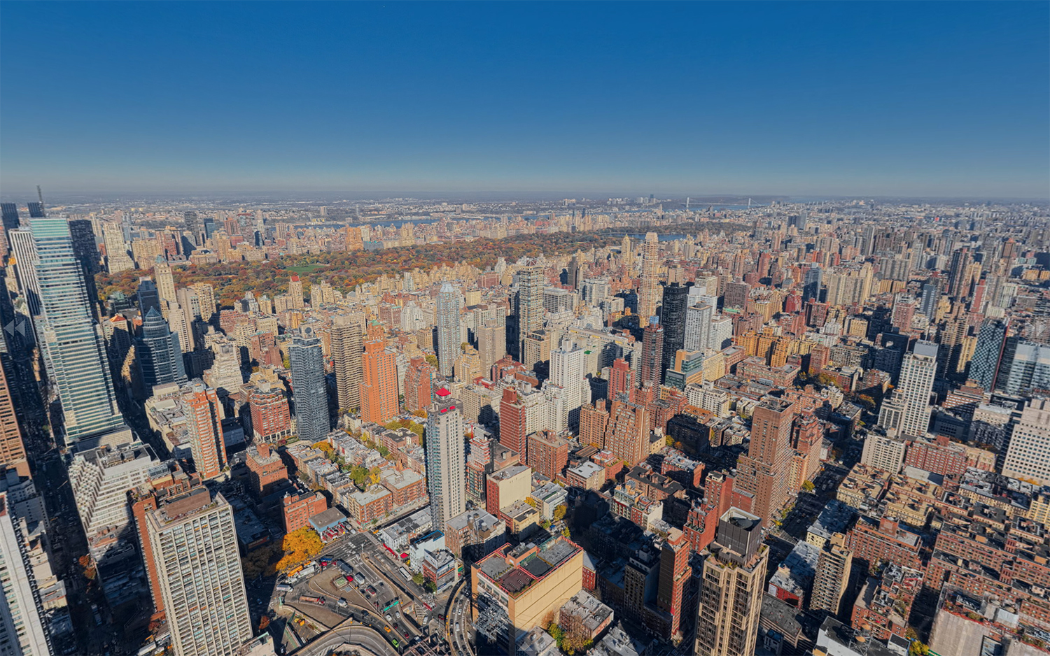View from 428-432 East 58th Street, 900 feet up. Via Bauhouse Group.