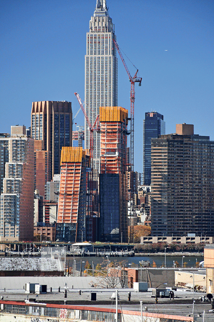 A view of 626 First Avenue from Queens, photo by Tectonic