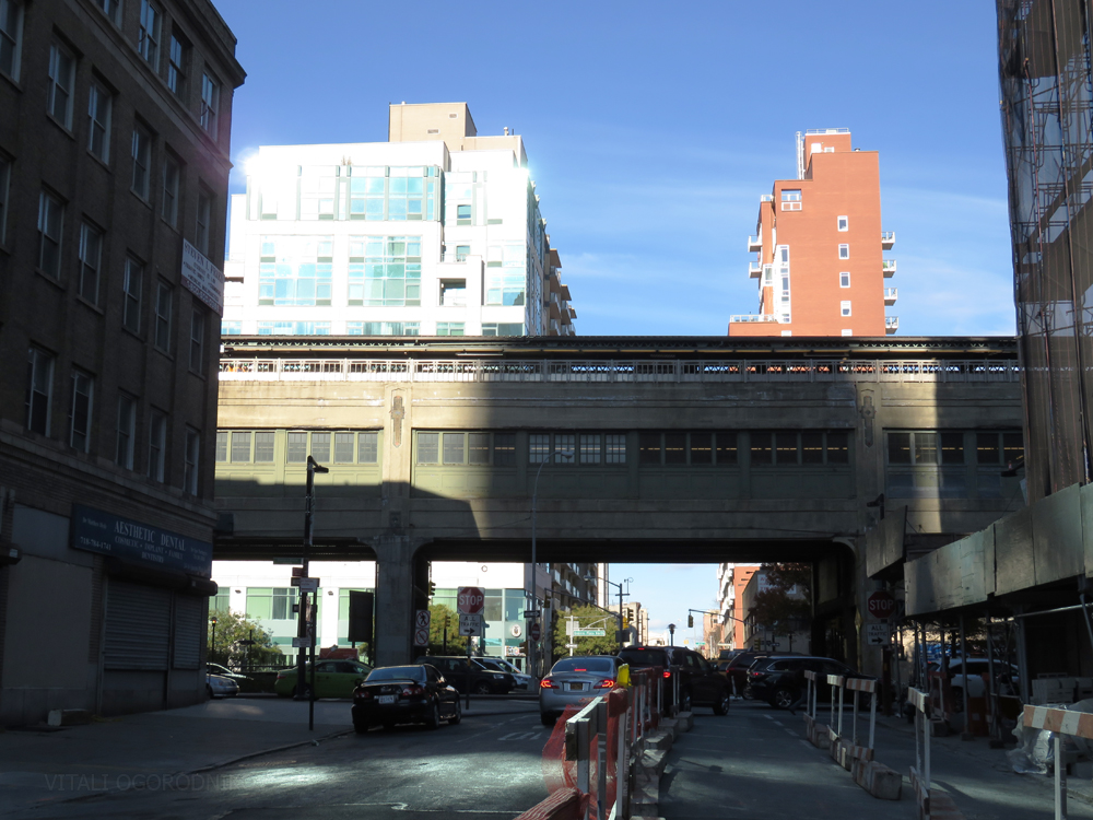 Queensboro Plaza subway station up the block