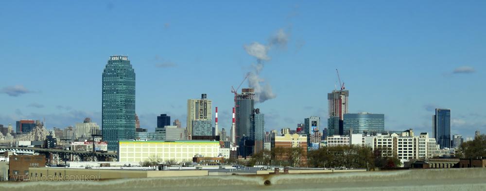Long Island City skyline in late November