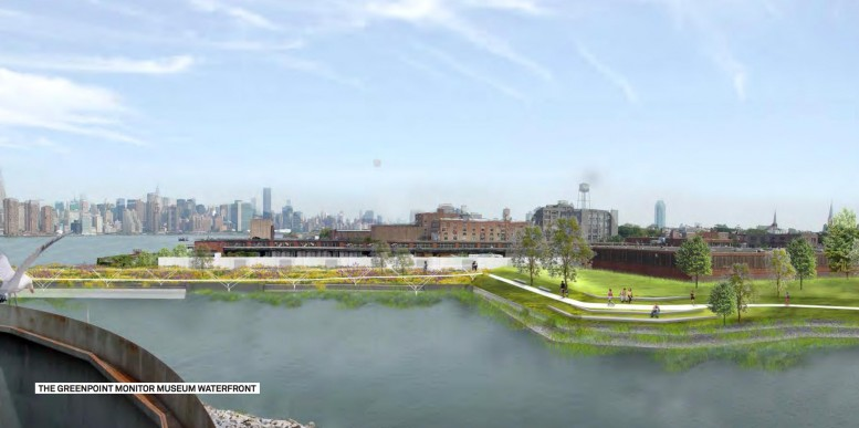 Greenpoint Monitor Museum's USS Monitor Park Moving Forward At 56 Quay Street, Greenpoint