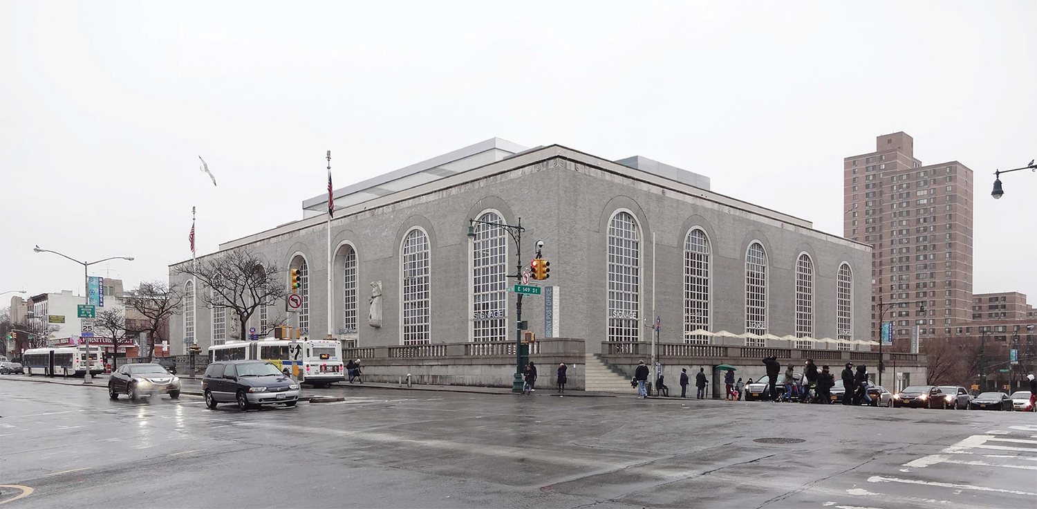 Bronx General Post Office, previously approved renovation.