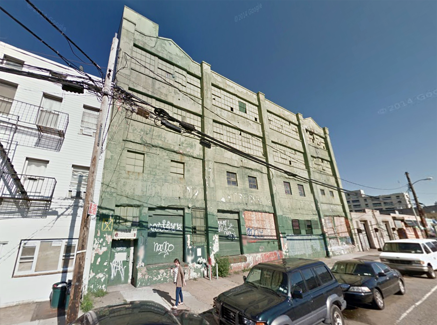The Paragon Paint Factory. Via Google Maps.