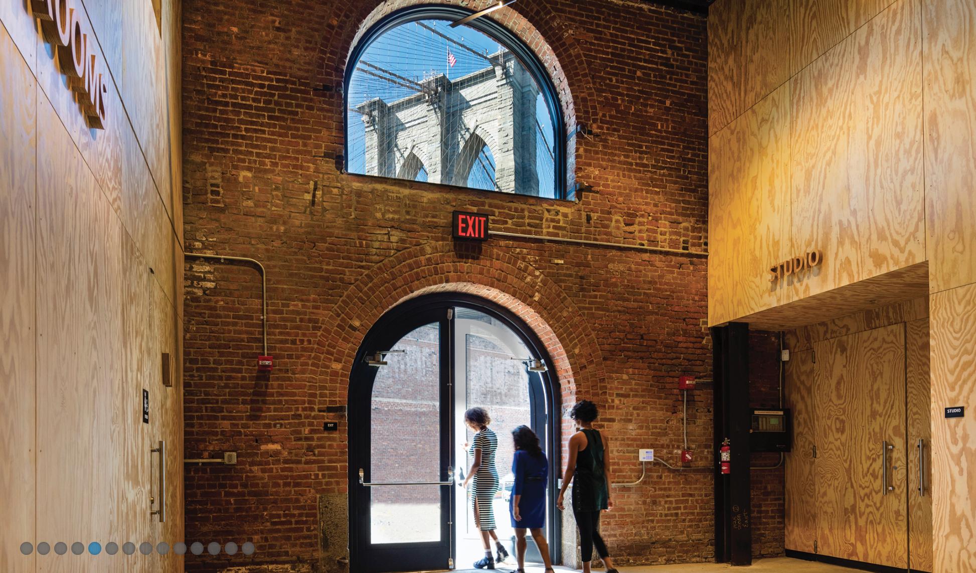 "St. Ann's Warehouse. Photo by David Sundberg/Esto <a href=""http://marvelarchitects.com/project/st-anns-warehouse/"">via Marvel Architects</a>"