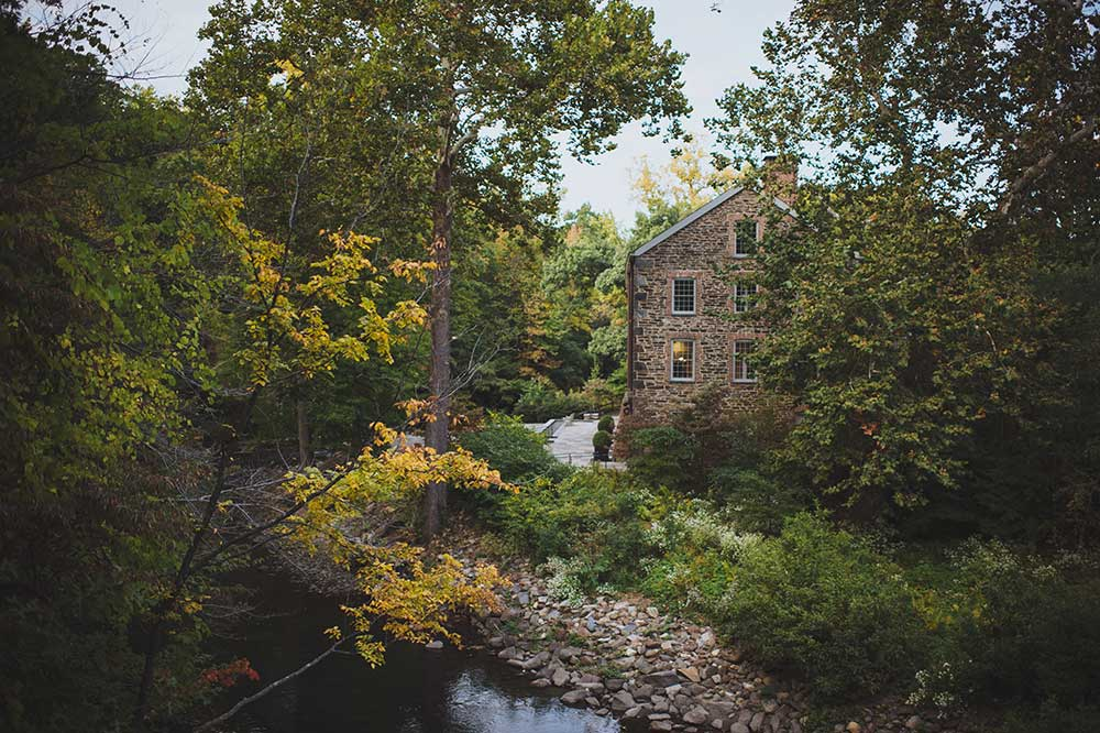 Lorillard Snuff Mill, a.k.a. Stone Mill. Photo via New York Botanical Garden.