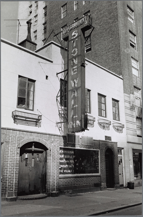 Stonewall Inn, 1969. Via LPC.