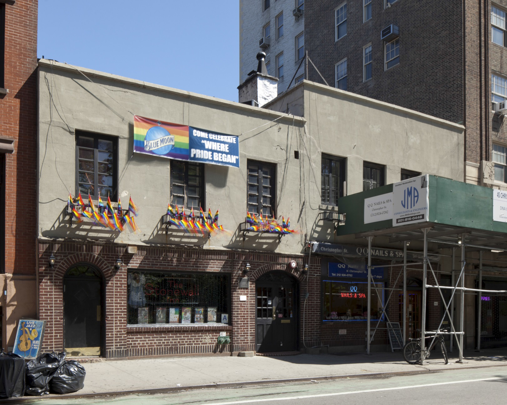 Stonewall Inn, June 2015. LPC photo.