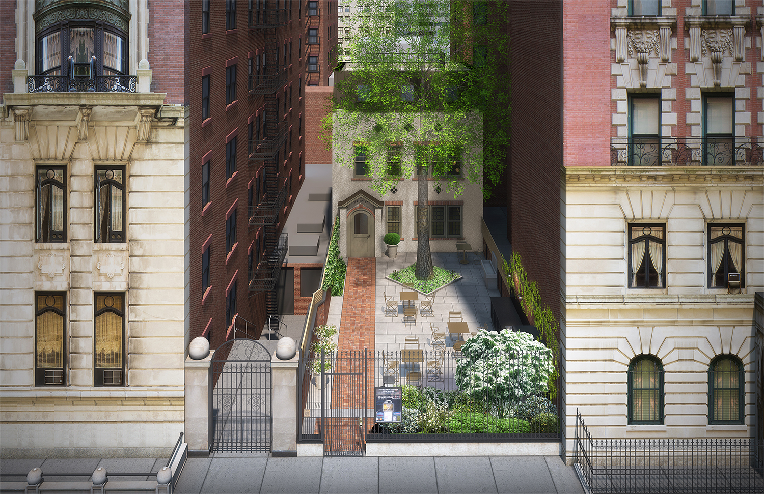 Proposed expansion of the Conservative Synagogue of Fifth Avenue, 11 East 11th Street.