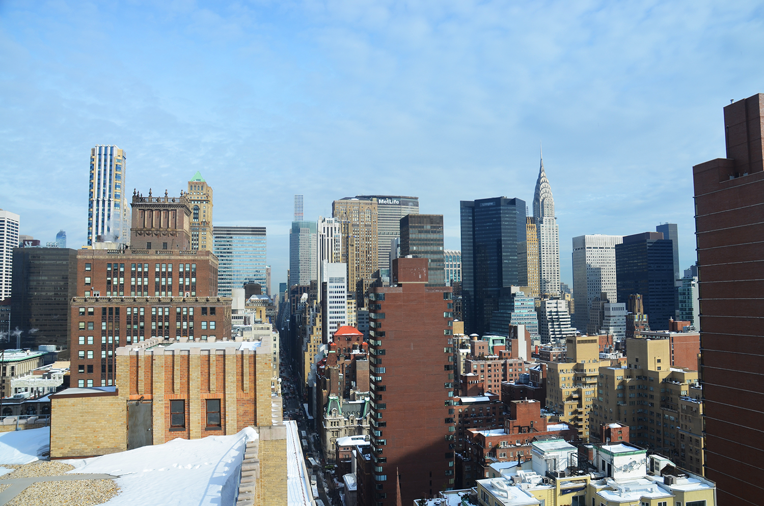 The view from 172 Madison Avenue.