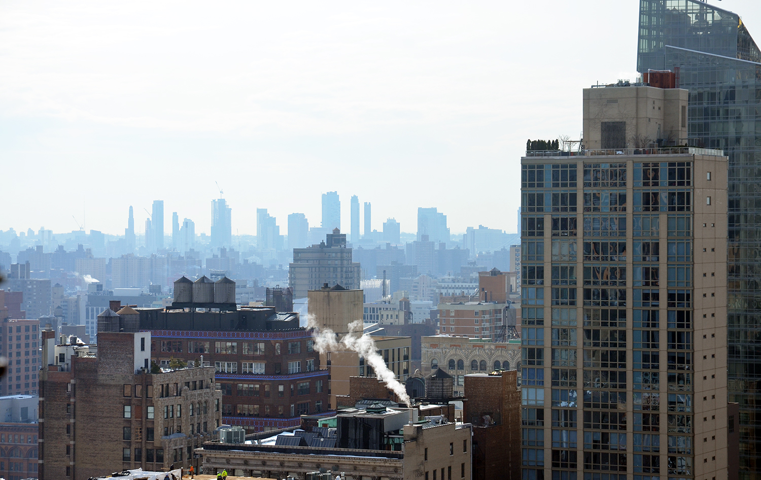 The Brooklyn skyline as seen from 172 Madison Avenue.