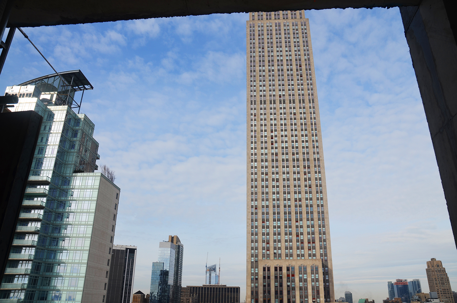 The Empire State Building as seen from 172 Madison Avenue.