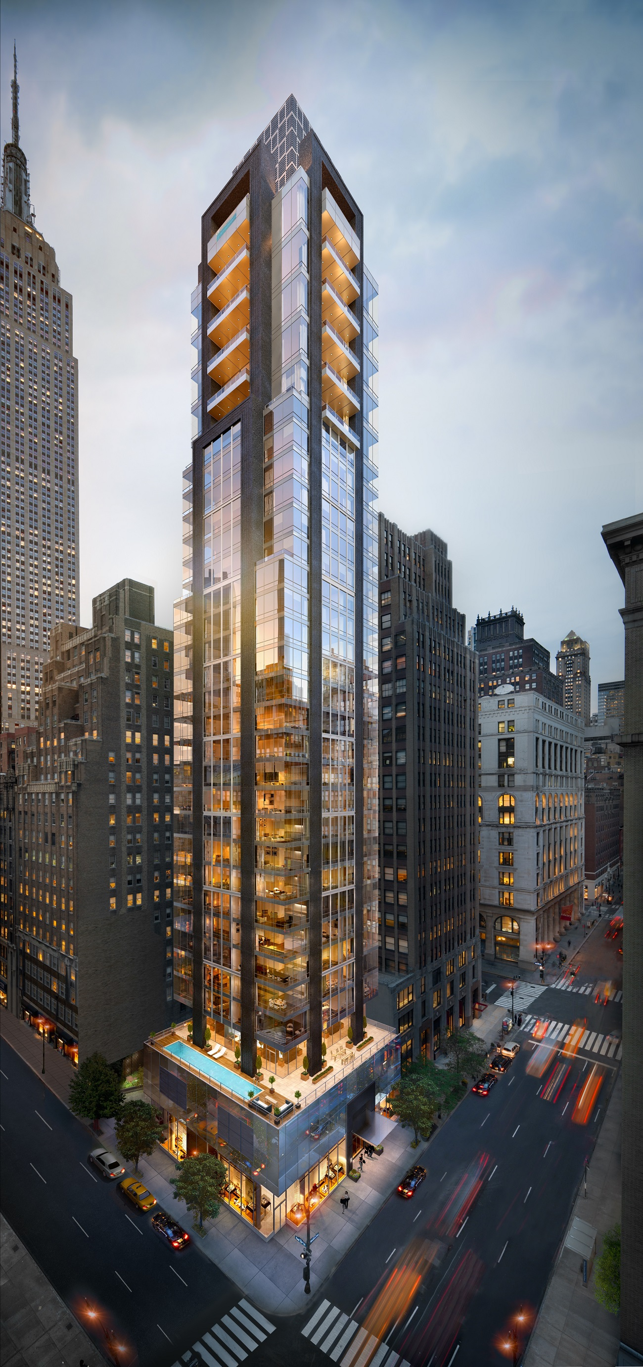 Rendering of 172 Madison Avenue.