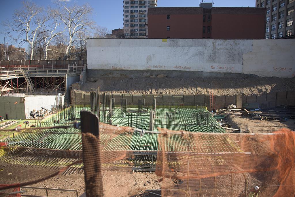 Construction at 199 Jay Street. Photo by Tectonic.
