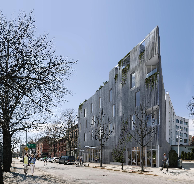 22-26 Marcy Avenue, rendering by Studio Esnal