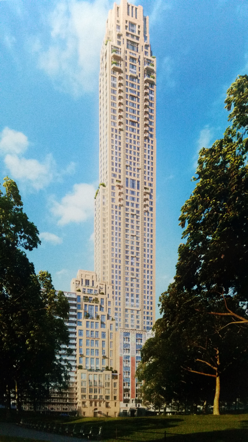 Final Renderings For 220 Central Park South Show Slight