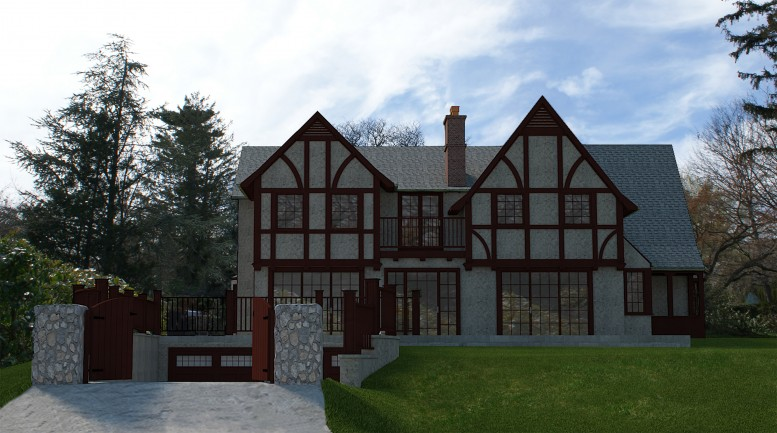 Rendering of proposal for 240-82 Beverly Road.