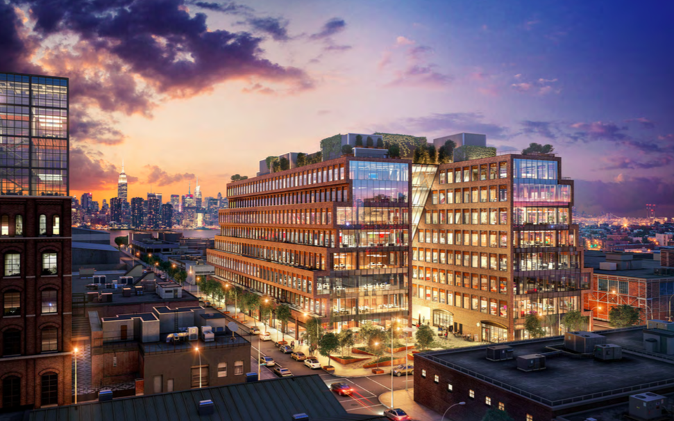 city council greenlights new williamsburg office building at 25 kent avenue and new kind of industrial zoning for it new york yimby brooklyn industrial office