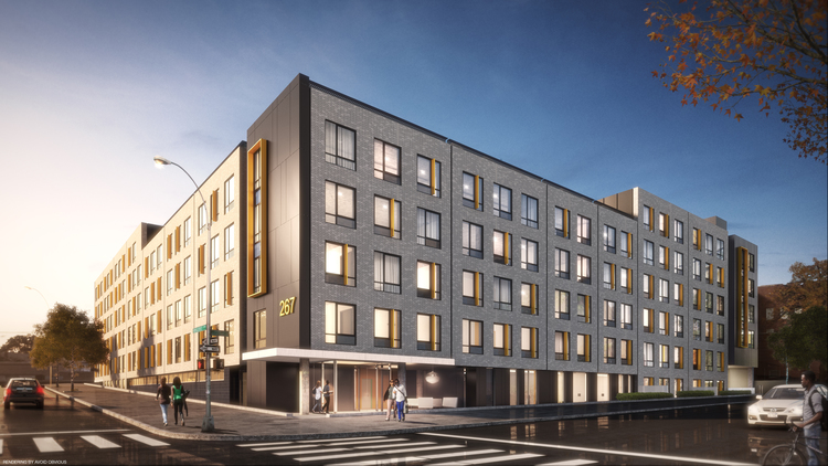 267 Rogers Avenue, rendering by Think Architecture and Design