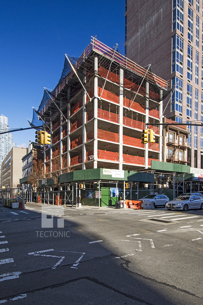 Construction at 319 Schermerhorn Street. Photo by Tectonic.