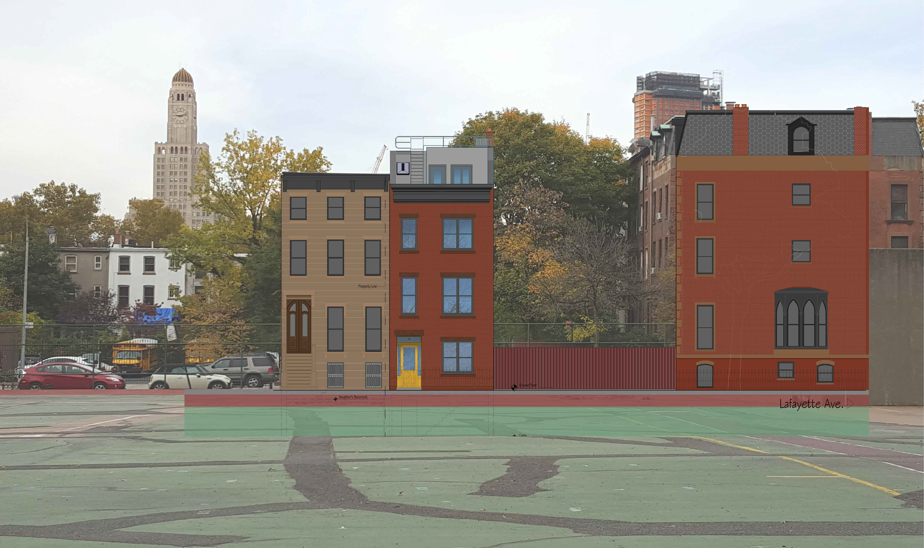 Proposal for 348 Clermont Avenue.