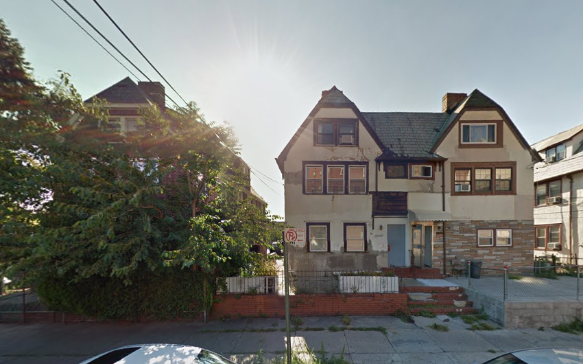 The future site of 35-20 146th Street, image via Google Maps