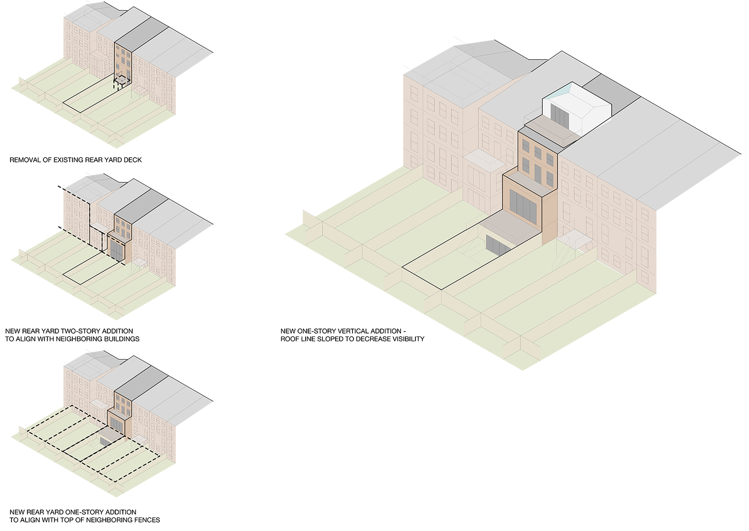 Proposal for 48 Downing Street.