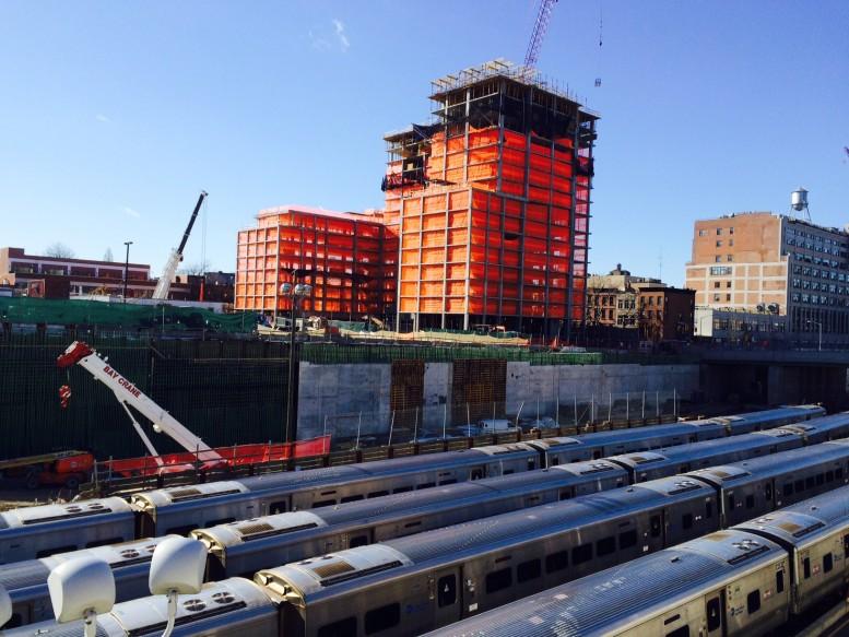 535 Carlton Avenue, photo via Greenland Forest City Partners