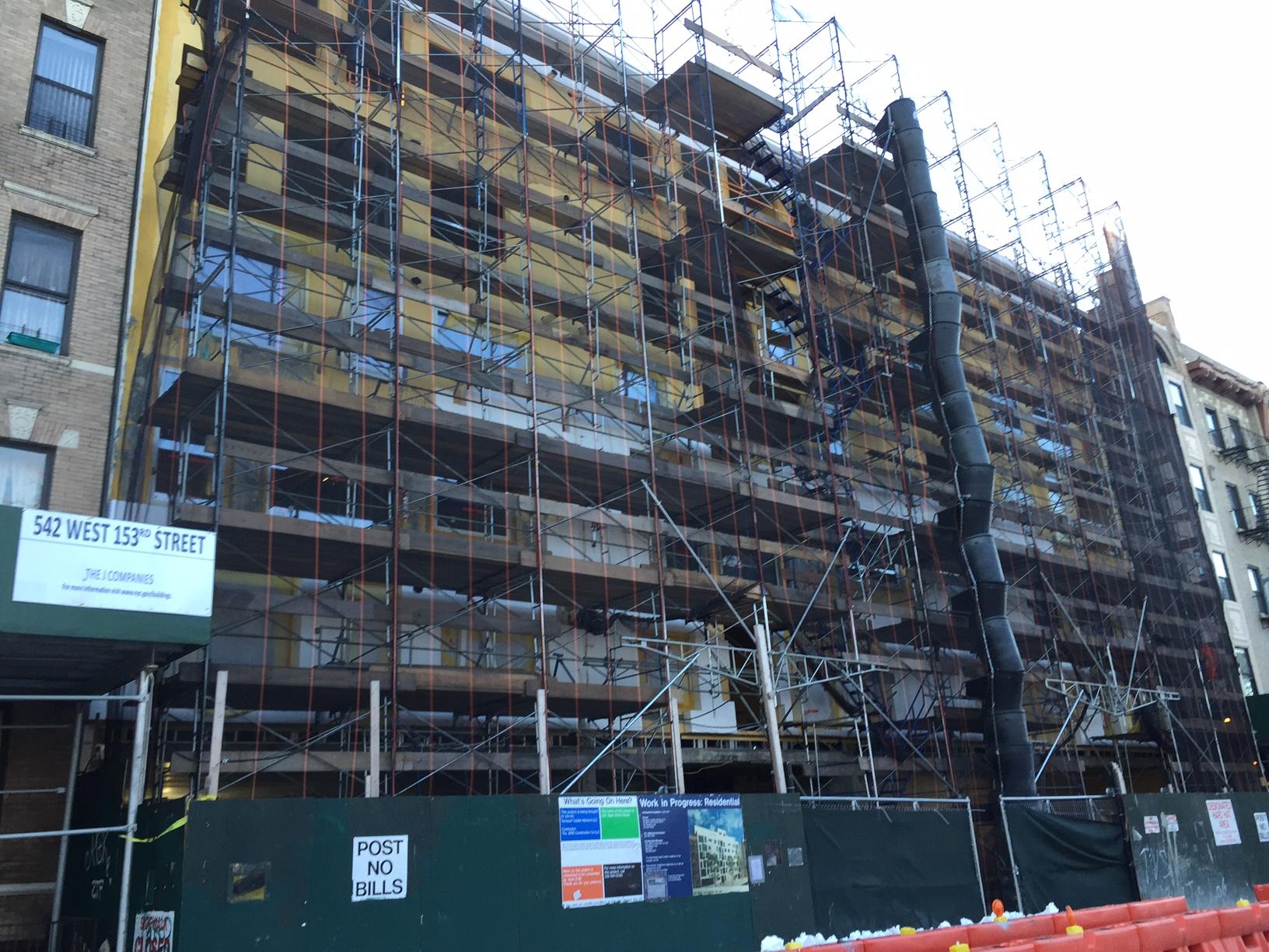 542 West 153rd Street, photo via Synapse Development