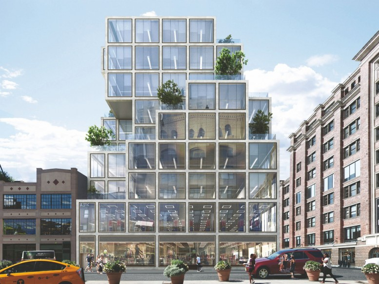 Reveal For Nine Story 150000 Square Foot Office Building