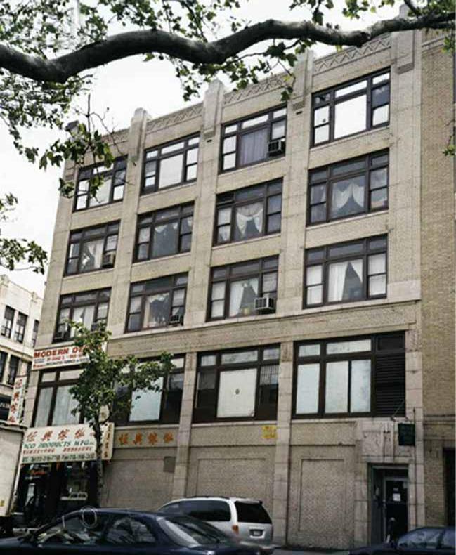 66 Allen Street, Allen Street facade, 1999.