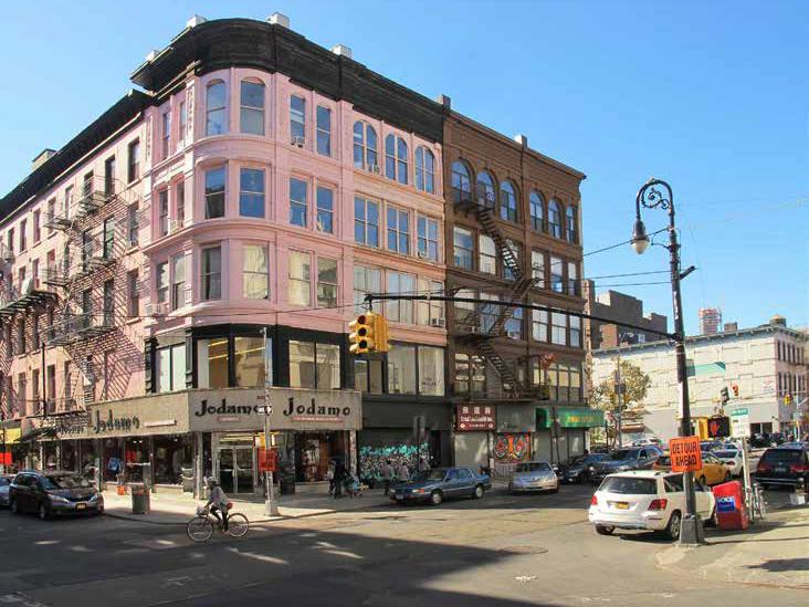 66 Allen Street, Grand Street facade, 2015.