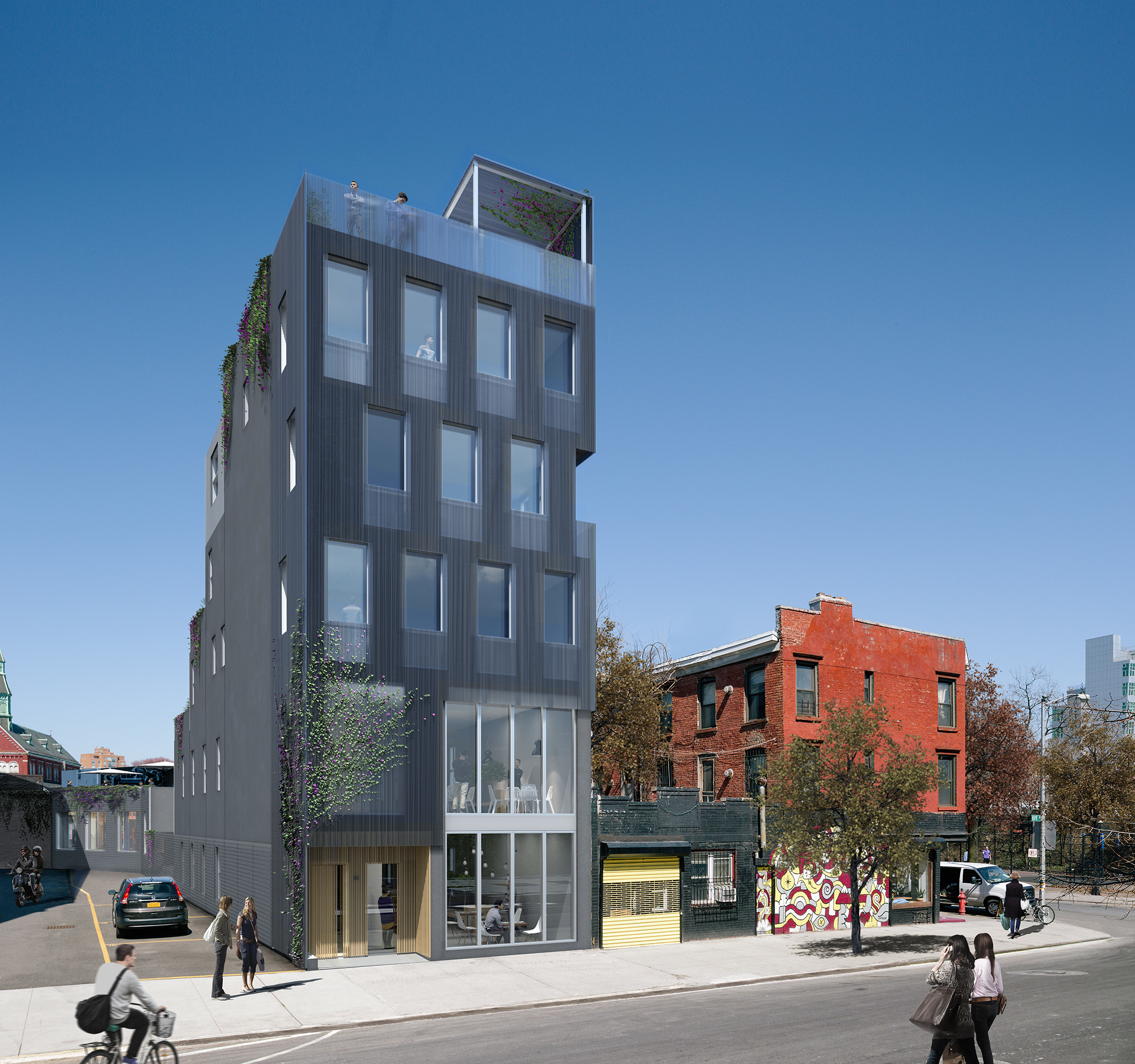 69 Hope Street, rendering by Studio Esnal
