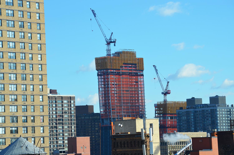 90 Lexington Avenue, view from upper penthouse.