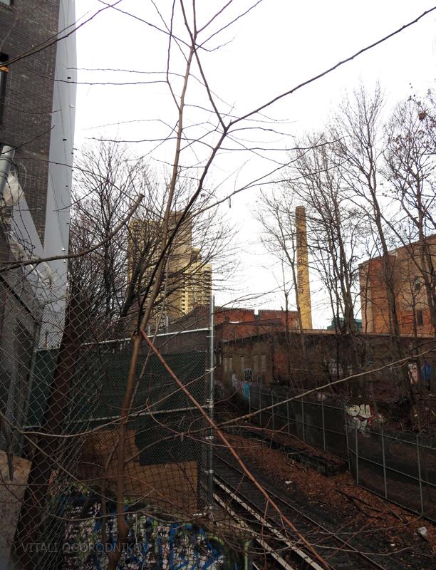 995 Washington Avenue, looking northeast