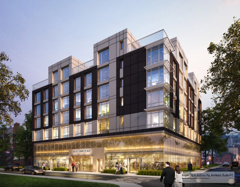 97-45 63rd Drive, rendering by Architects Studio
