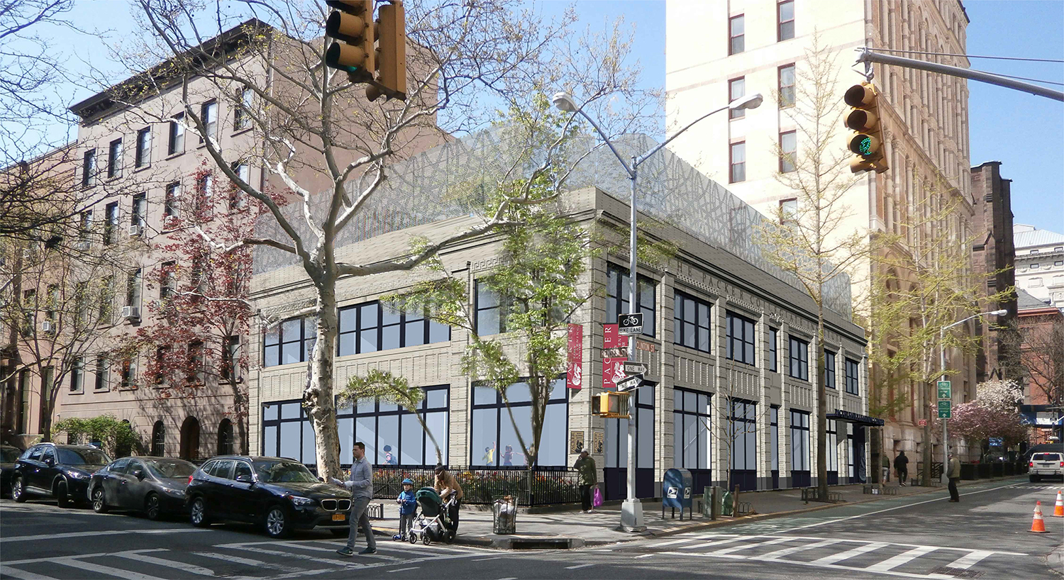 Proposal for 100 Clinton Street.