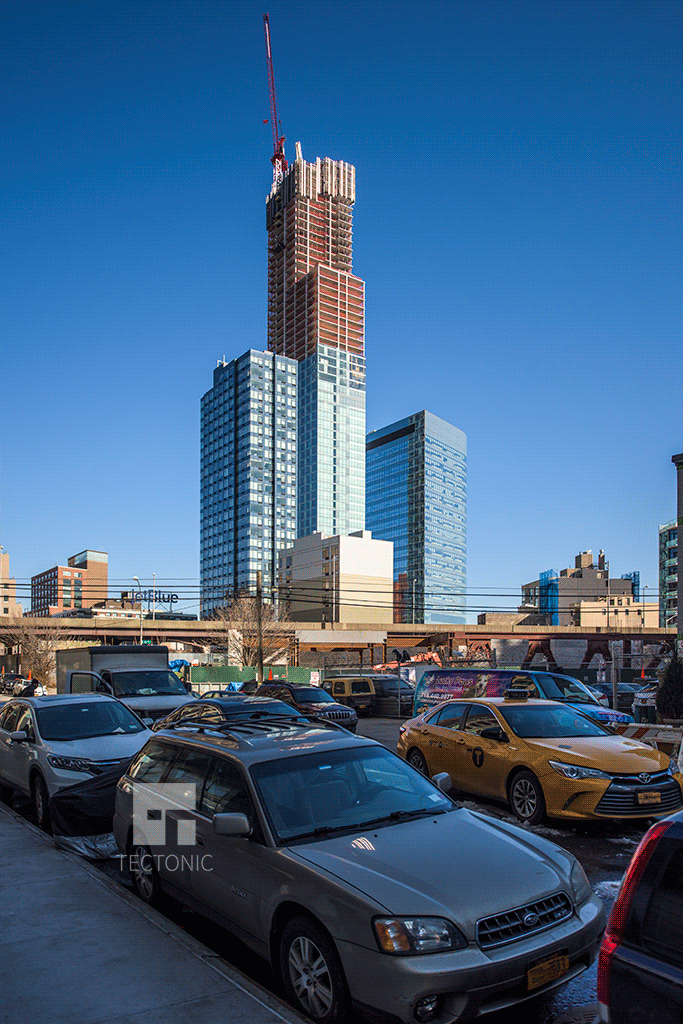 Construction at 42-12 28th Street. Photo by Tectonic.