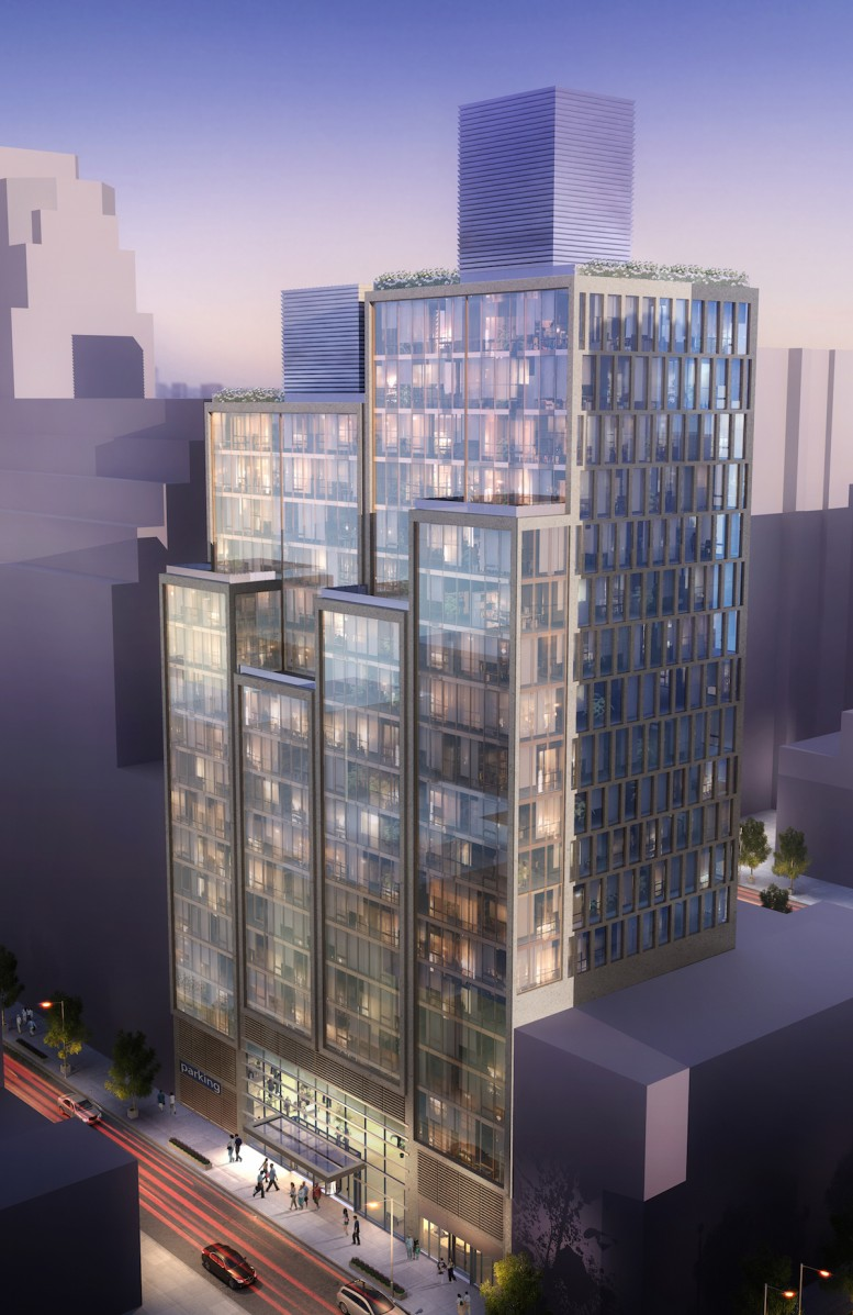 152 East 87th Street, rendering by Ismael Levya Architects