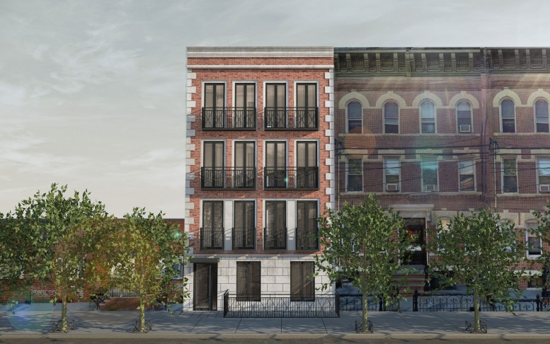 1728 Himrod Street, rendering by Input Creative Studio