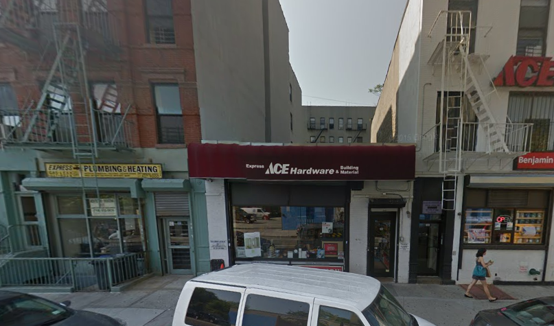 208 East 119th Street, image via Google Maps