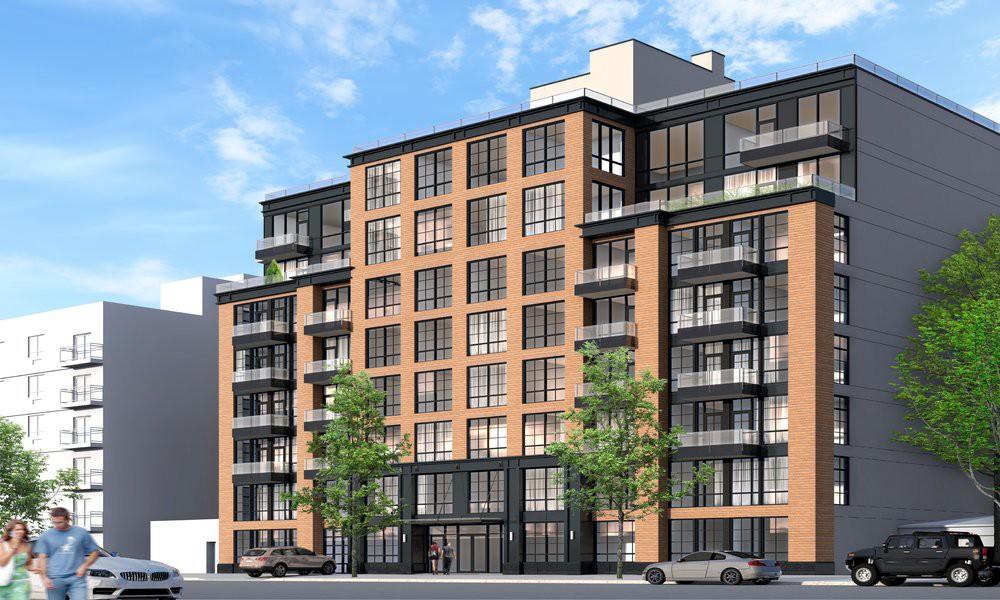 2100 Bedford Avenue, rendering by Karl Fischer Architect
