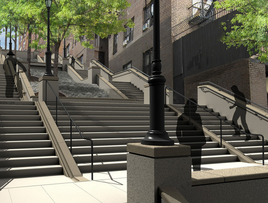 215th Street staircase