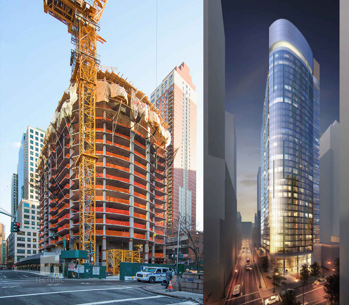 36-Story, 372-Unit Residential Building Rises At 225 East