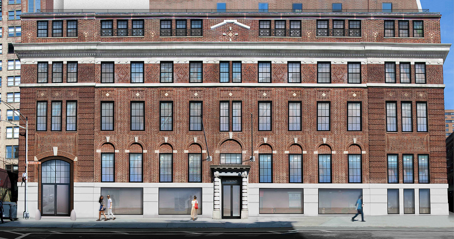 Previous proposal for 348 Lafayette Street.