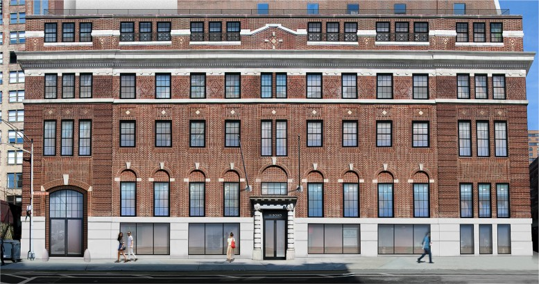 Approved renovation plan for 348 Lafayette Street.