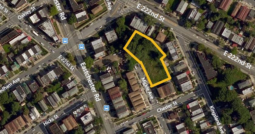 3530 Mickle Avenue, image via Bing Maps